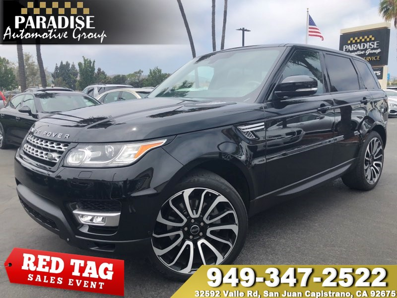 Range Rover 3rd Row >> 2014 Land Rover Range Rover Sport Hse With 3rd Row Paradise Automotive Group