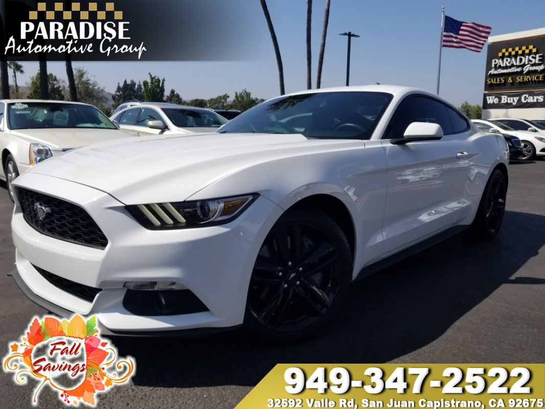 Paradise Automotive Group San Juan Capistrano Used Cars Great 2012 Mustang Fuel Filter Location 2015 Ford Ecoboost
