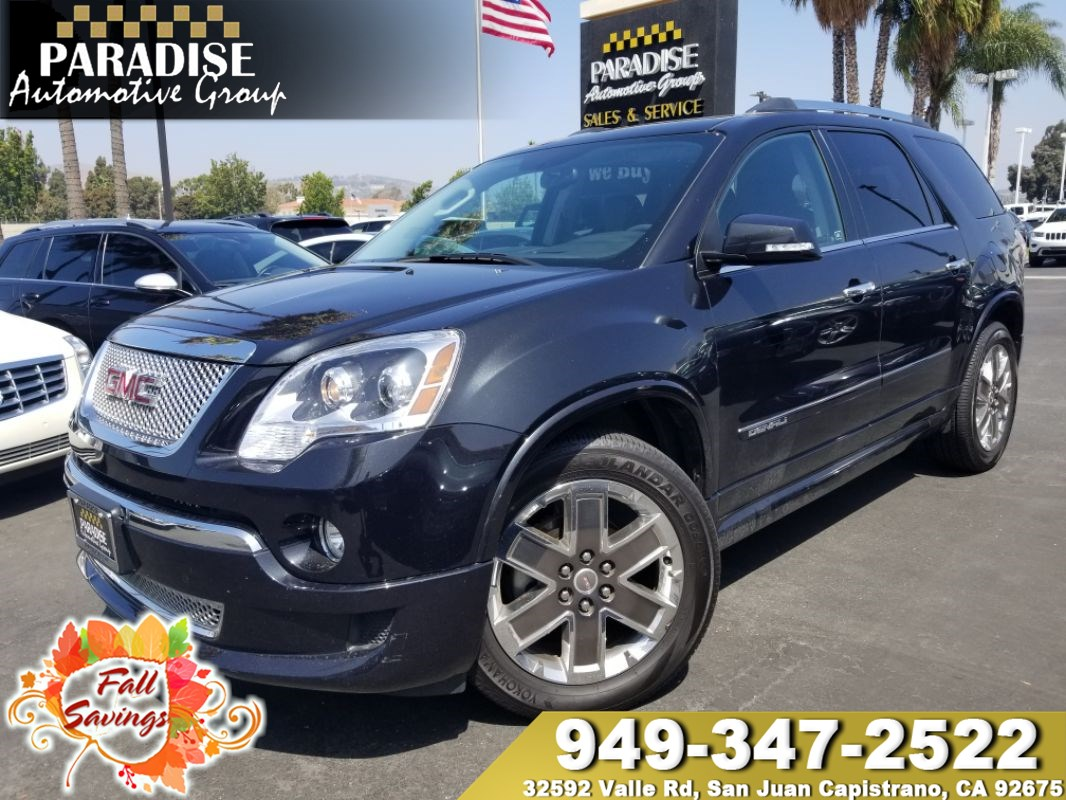 Paradise Automotive Group San Juan Capistrano Used Cars Great 2012 Gmc Yukon Fuel Filter Acadia Denali