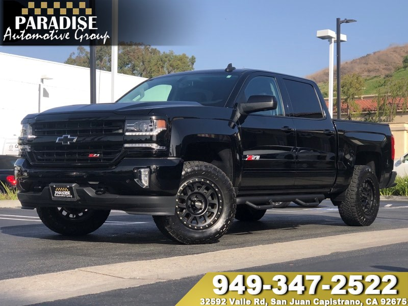 Sold 2016 Chevrolet Silverado 1500 Ltz Z71 Midnight Edition In San