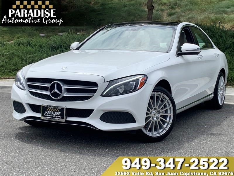 2016 Mercedes-Benz C 300 Sport 4MATIC