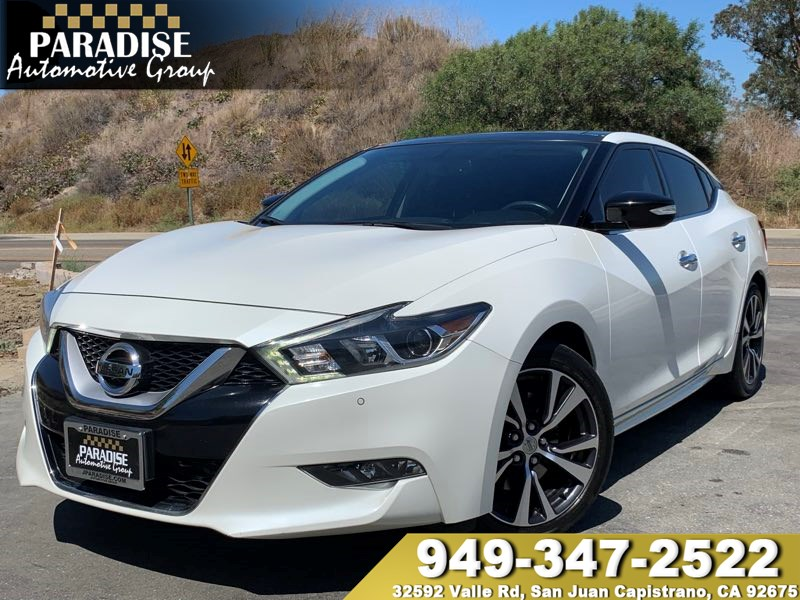 2016 Nissan Maxima 3.5 Sl >> 2016 Nissan Maxima 3 5 Sl Paradise Automotive Group