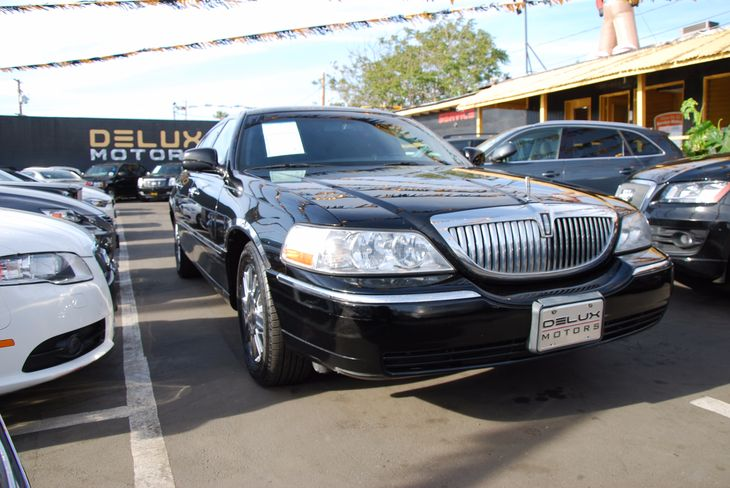 Sold 2011 Lincoln Town Car Executive W Limousine Pkg In Inglewood