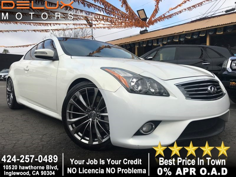 Sold 2012 Infiniti G37 Coupe Journey In Inglewood
