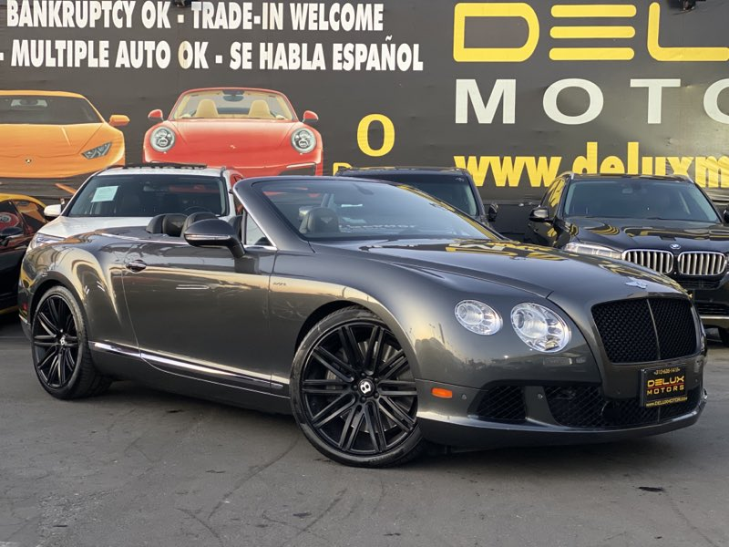 2014 Bentley Continental GT W12 SPEED