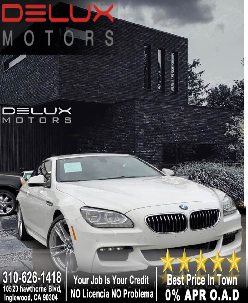 2014 BMW 6 Series 640i M package