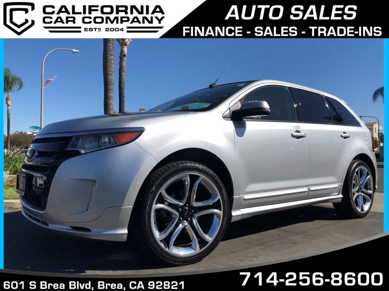 used 2013 ford edge sport in brea