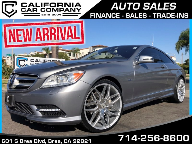 2012 Mercedes-Benz CL 550 Coupe