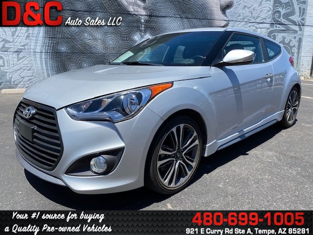 2017 Hyundai Veloster Turbo Coupe 3D