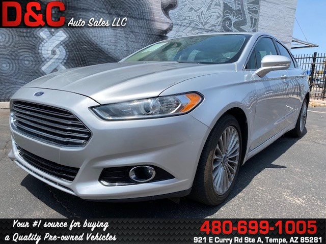 2016 Ford Fusion Titanium Sedan 4D