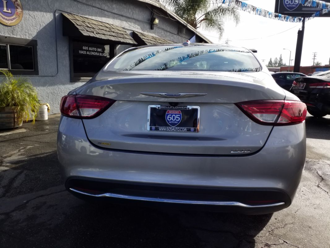 Used 2015 Chrysler 200 Limited In Bellflower Tinted Windows Image 5