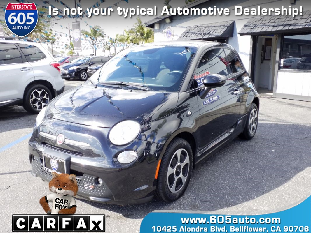 2013 FIAT 500e BATTERY ELECTRIC