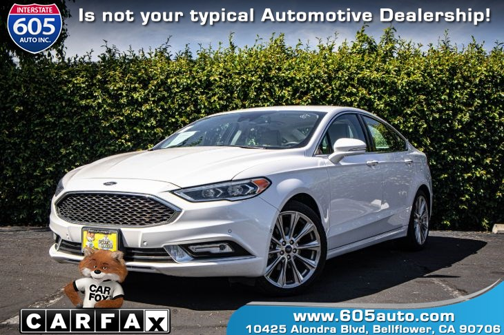 2017 Ford Fusion Titanium (PARK ASSIST & BRAKE ALERT)