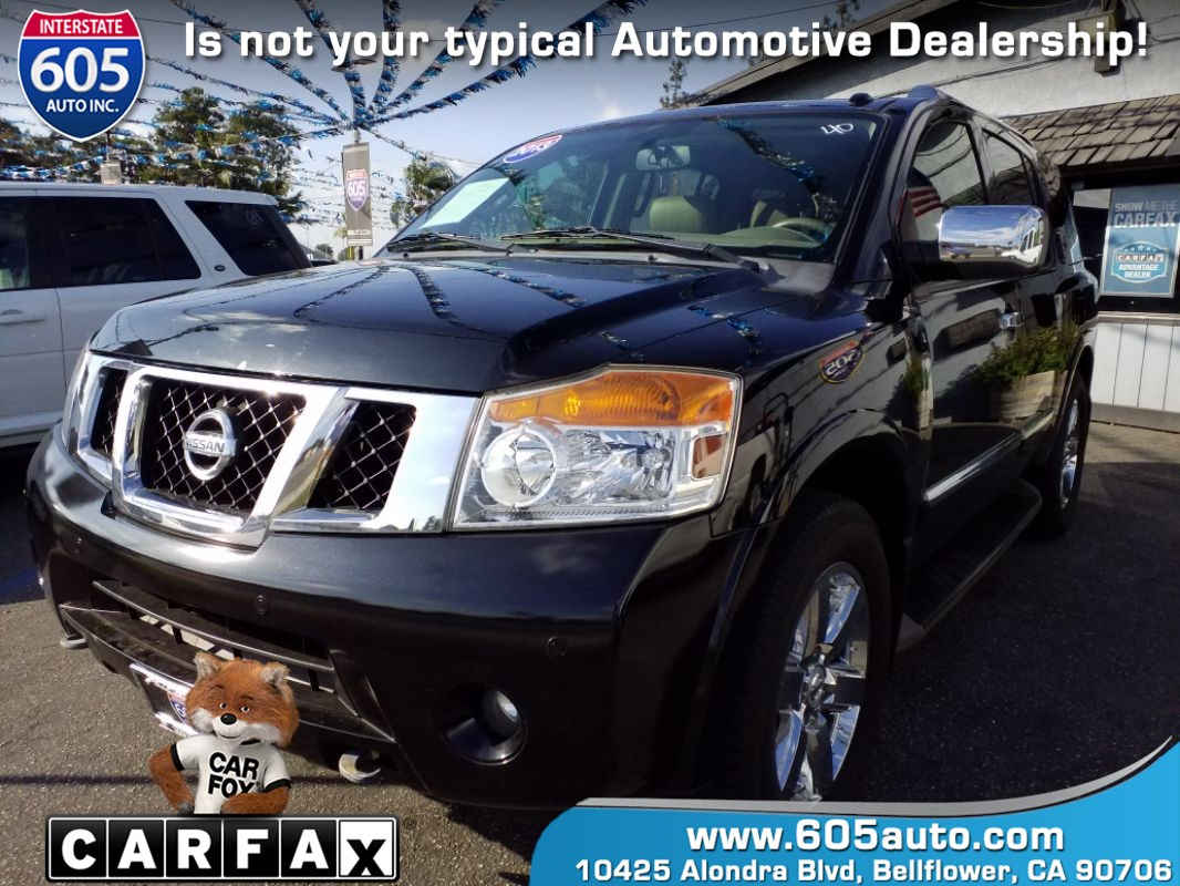 2013 Nissan Armada Platinum (Back-Up Camera)