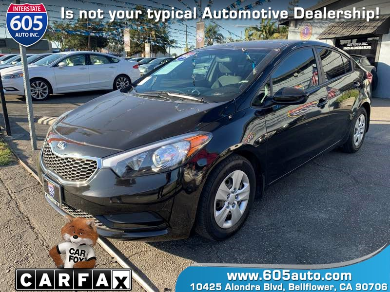 2016 Kia Forte LX (POPULAR PACKAGE)