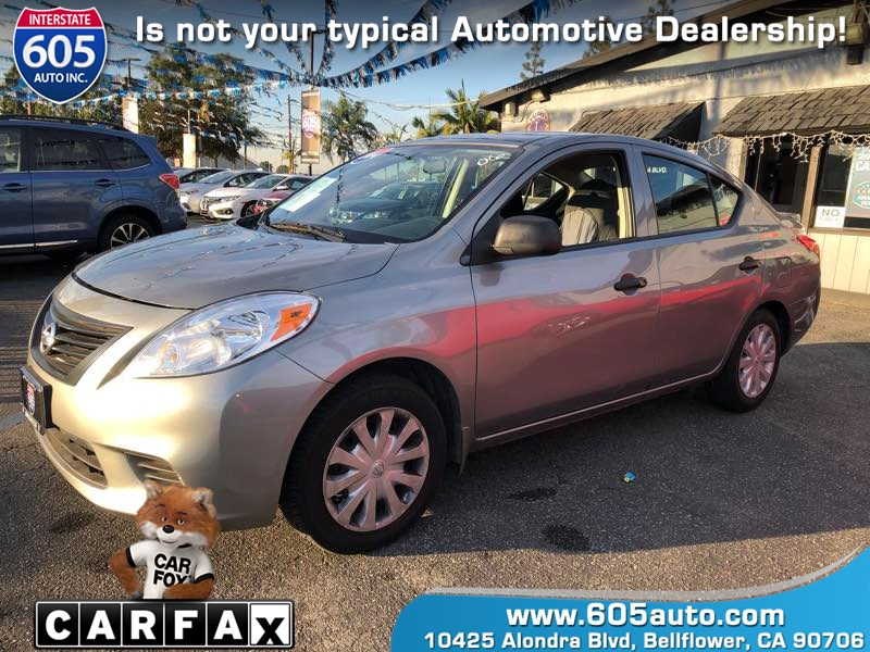 2014 Nissan Versa S Plus ( 31 mpg City / 40 mpg Highway)
