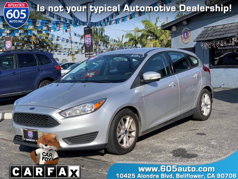 2016 Ford Focus SE (Aluminum Wheels)