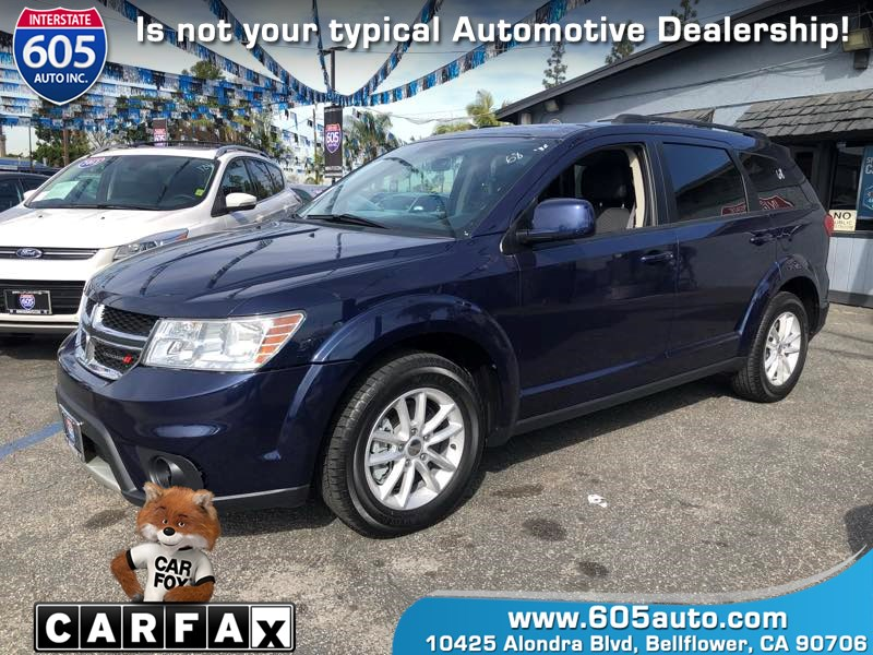 2017 Dodge Journey SXT 2ND ROW SEAT W/2 CHILD BOOSTERS