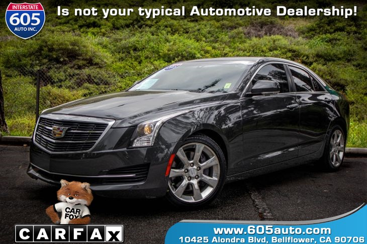 2015 Cadillac ATS Sedan Luxury RWD (BOSE AUDIO PACKAGE)