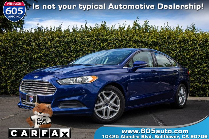 2015 Ford Fusion SE (BLUETOOTH & BACK UP CAMERA)