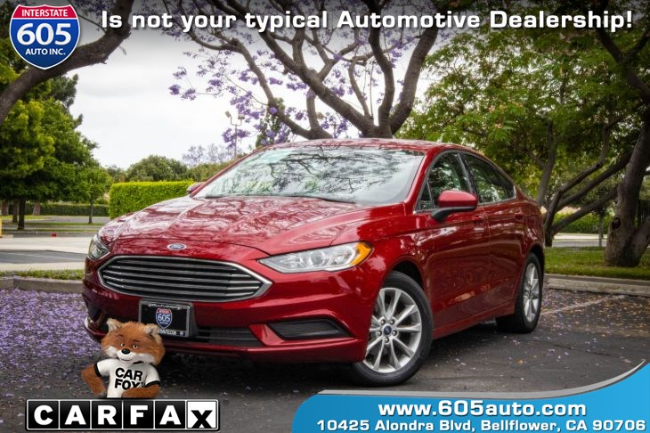 2017 Ford Fusion SE( BLUETOOTH & BACKUP CAMERA)