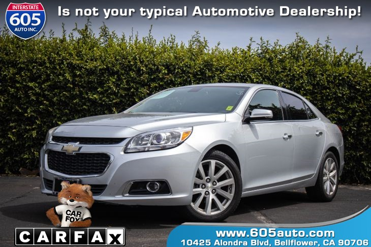 2014 Chevrolet Malibu LTZ (BLUETOOTH & BACKUP CAMERA)