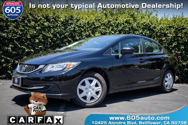 2015 Honda Civic Sedan LX (BLUETOOTH & BACKUP CAMERA)