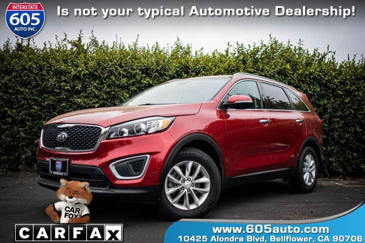 2016 Kia Sorento (BLUETOOTH & BACKUP CAMERA) LX