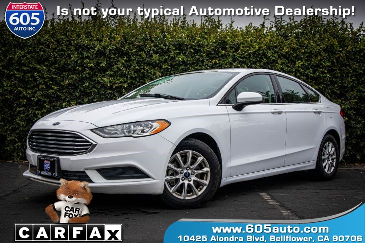 2017 Ford Fusion ( BLUETOOTH & BACKUP CAMERA) S