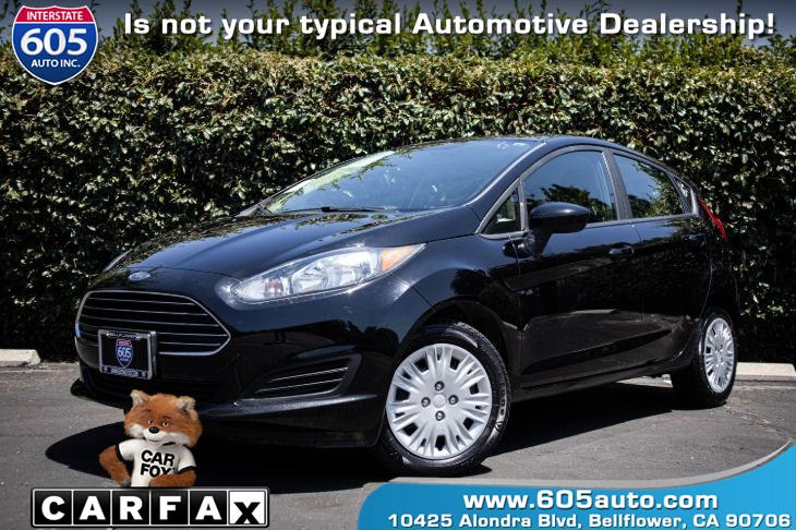 2018 Ford Fiesta S(BACKUP CAMERA & BLUETOOTH)