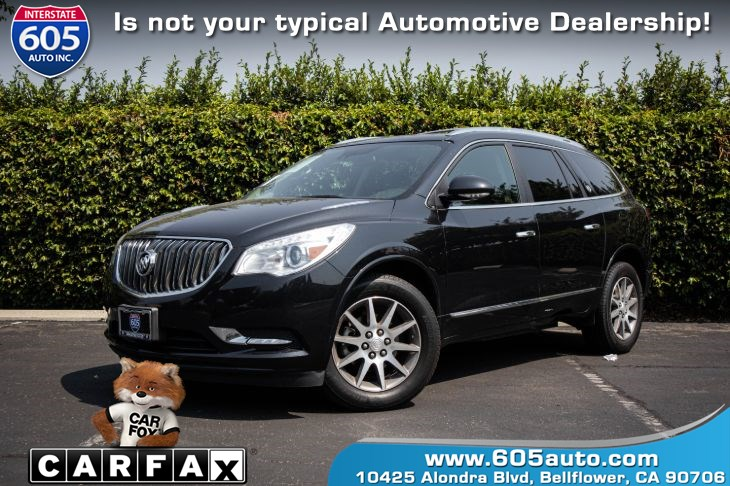 2015 Buick Enclave (3rd ROW SEATING W/ BACK UP CAMERA)