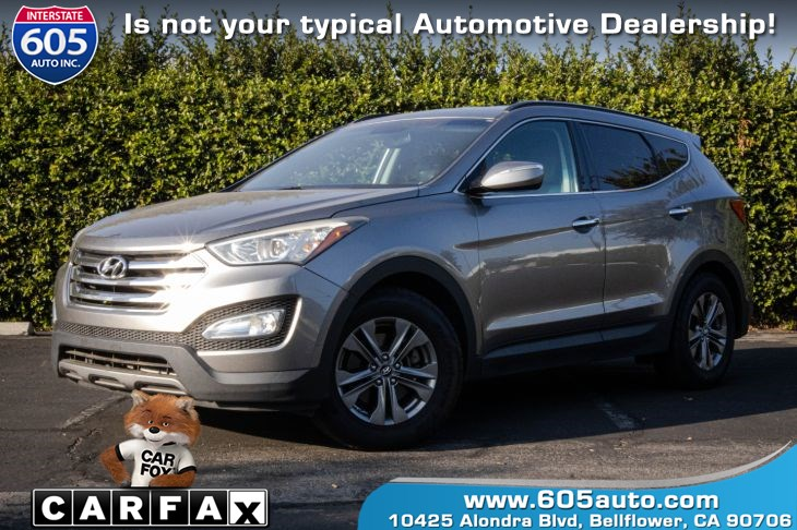 2013 Hyundai Santa Fe Sport (PUSH START W/ BLUETOOTH)