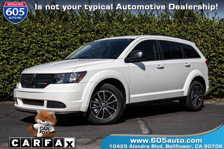 2018 Dodge Journey SE (3RD ROW SEATING & BACKUP CAMERA)