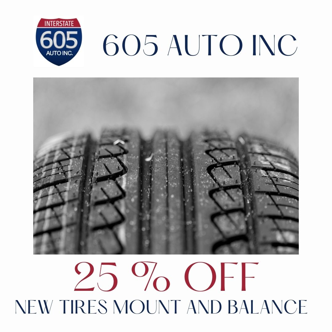 New tires at excellent price