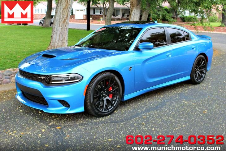 Blue Dodge Charger >> 2015 Dodge Charger Srt Hellcat Munich Motors