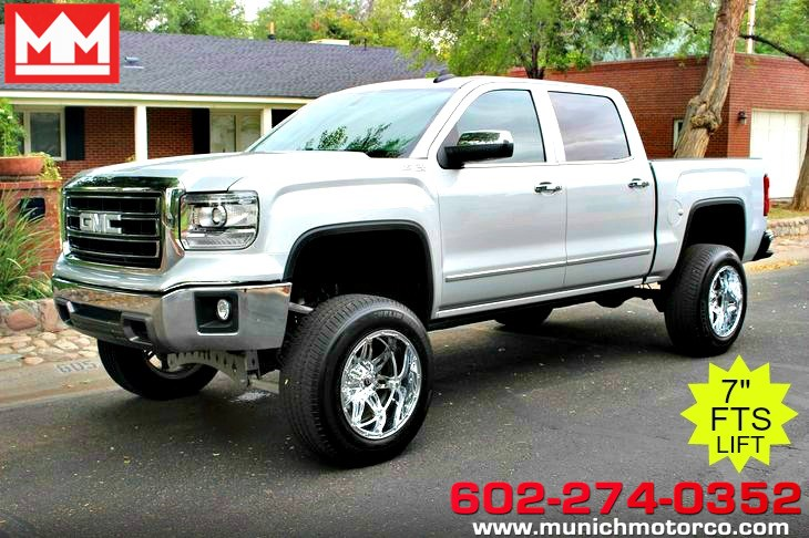 2015 GMC Lifted Sierra 1500 SLT