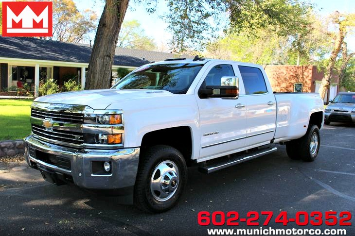 2015 Chevrolet Silverado 3500HD Built After Aug 14 LTZ
