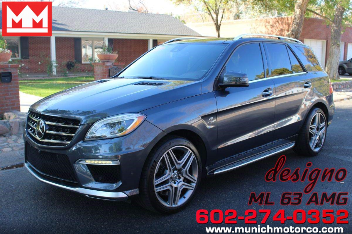 2014 Mercedes-Benz ML 63 AMG SUV