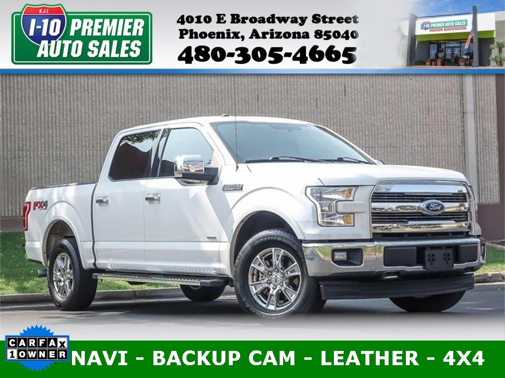 2017 Ford F-150 Lariat 4X4 - One Owner - Nice!