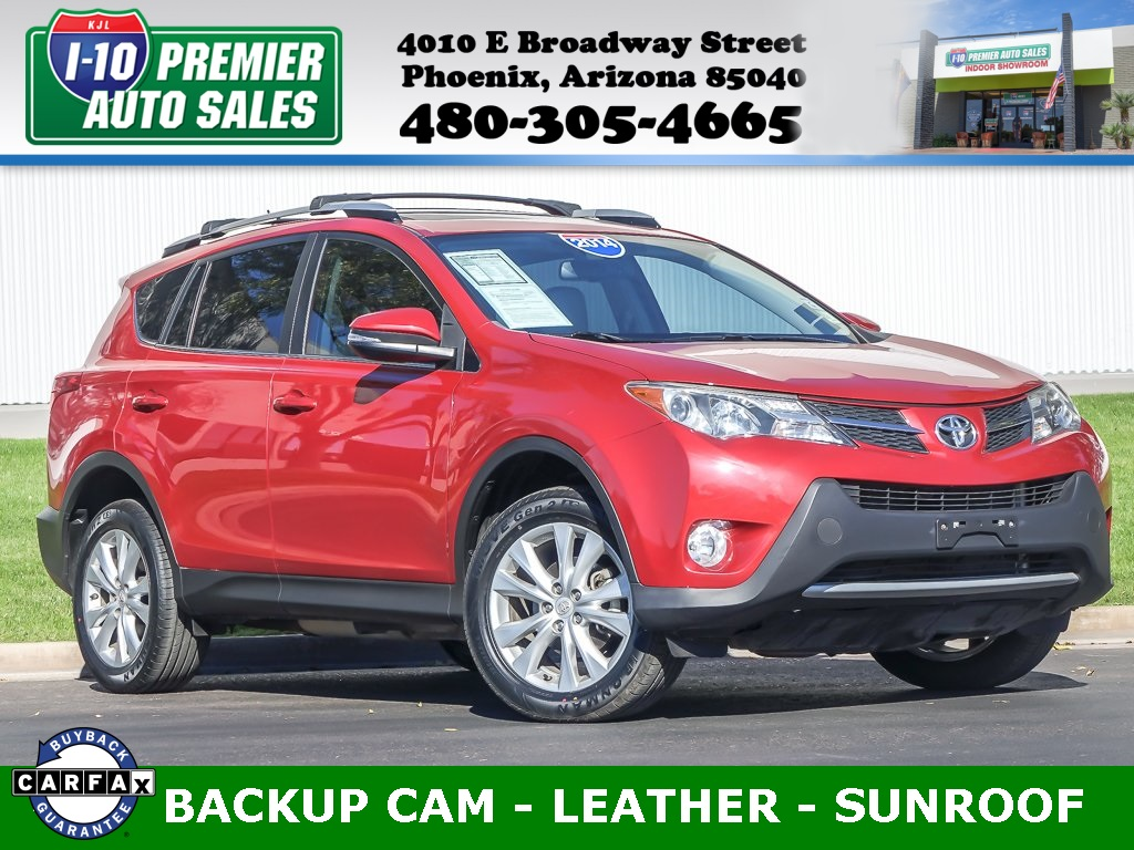 2014 Toyota RAV4 Limited  - Very Low Miles!