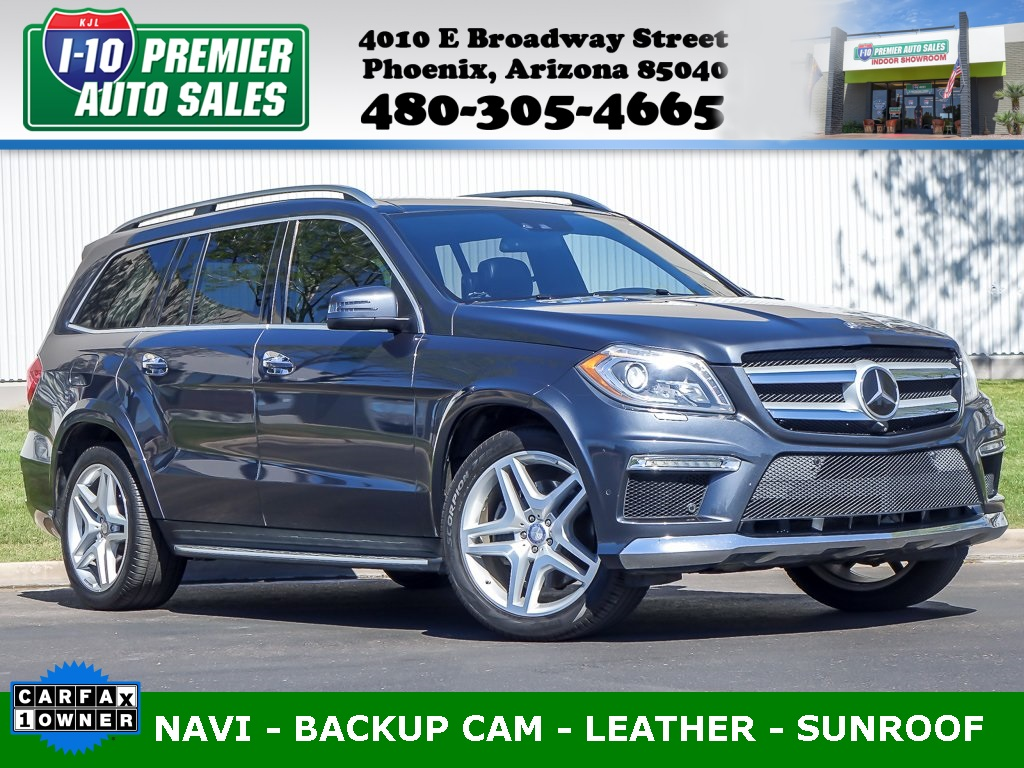 2013 Mercedes-Benz GL 550 GL 550 4MATIC®