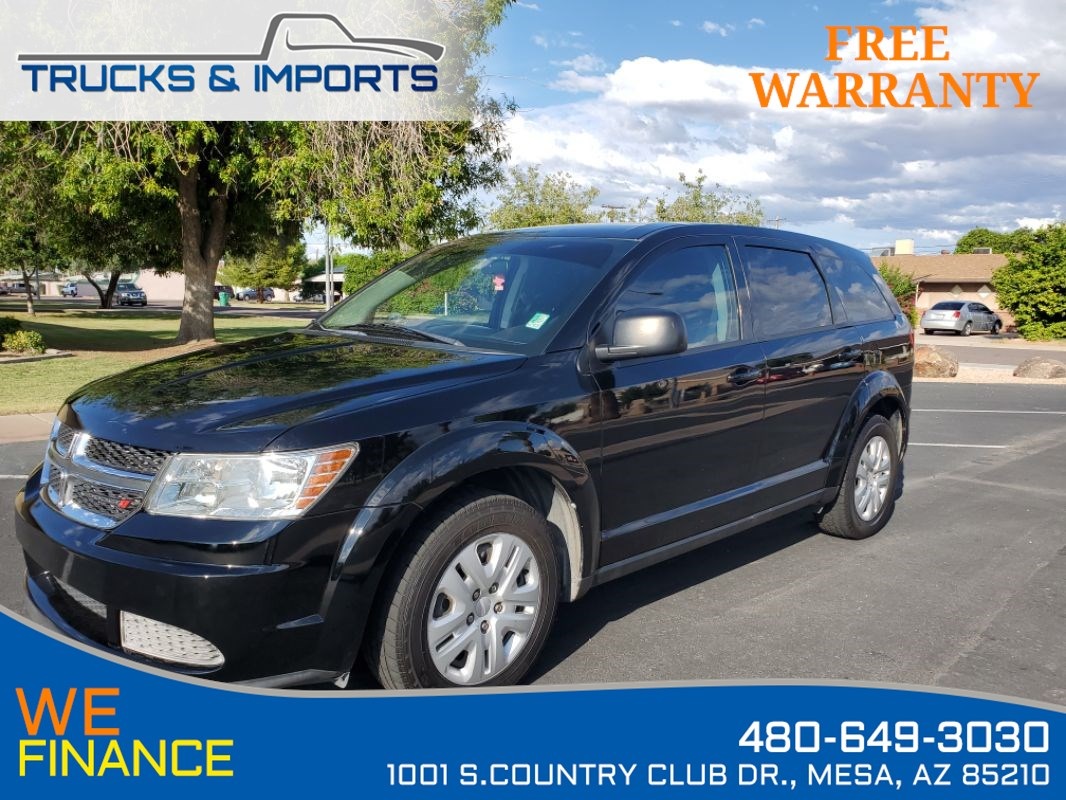 2015 Dodge Journey THIRD Row Seating  plus 26 MPG!