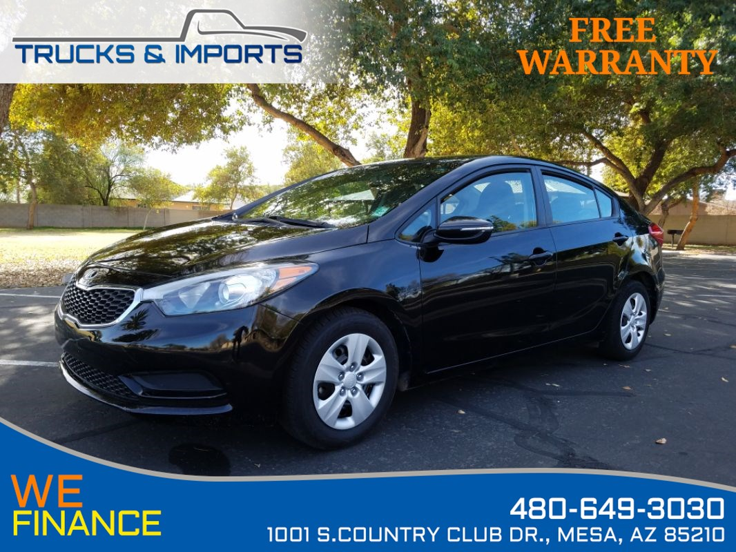 2016 Kia Forte LX One Owner Clean CarFax!