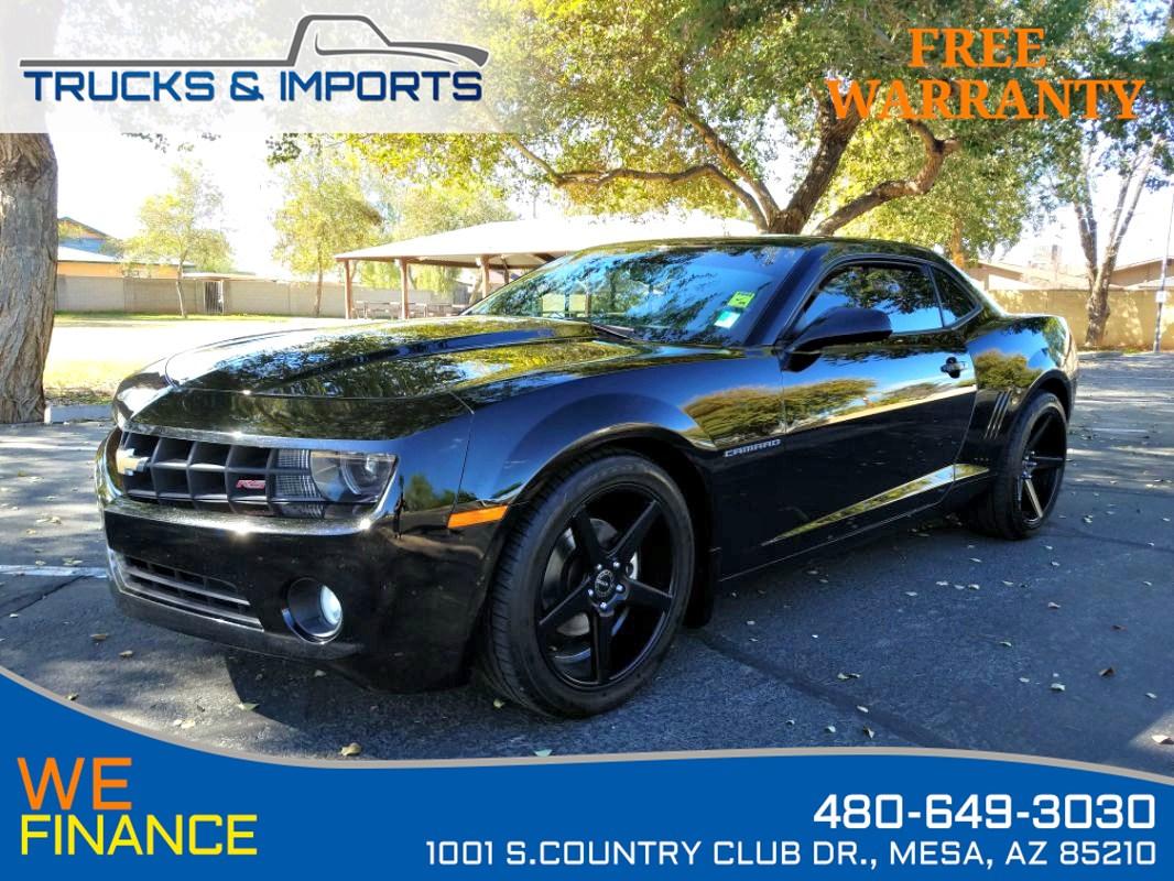 Sold 2012 Chevrolet Camaro 2lt Rs One Owner 2 In Stock In Mesa