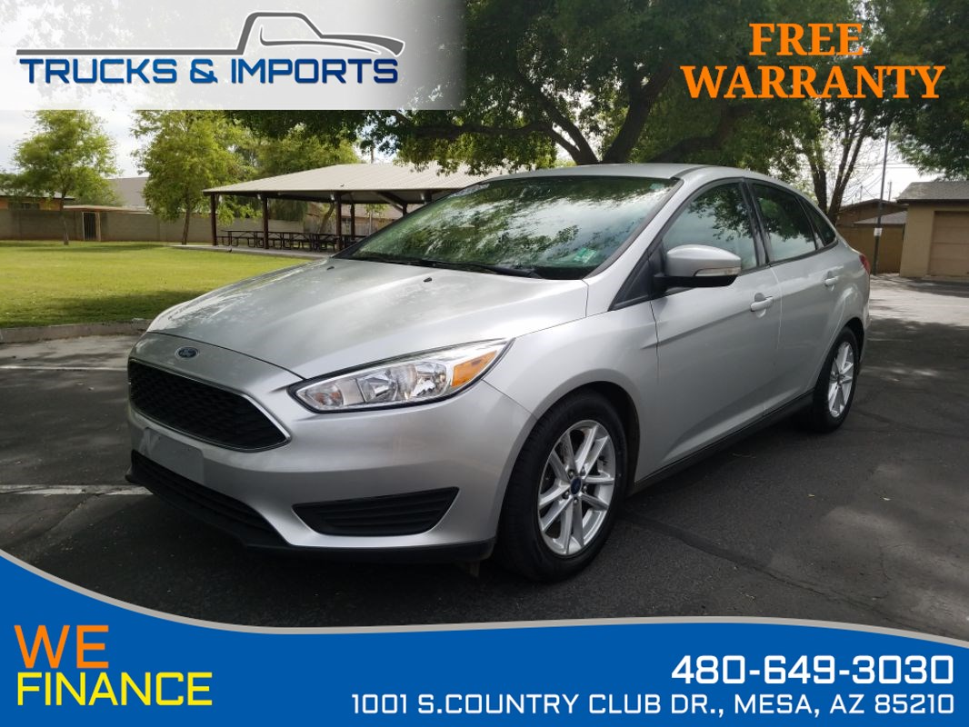2016 Ford Focus SE One Owner Clean CarFax!