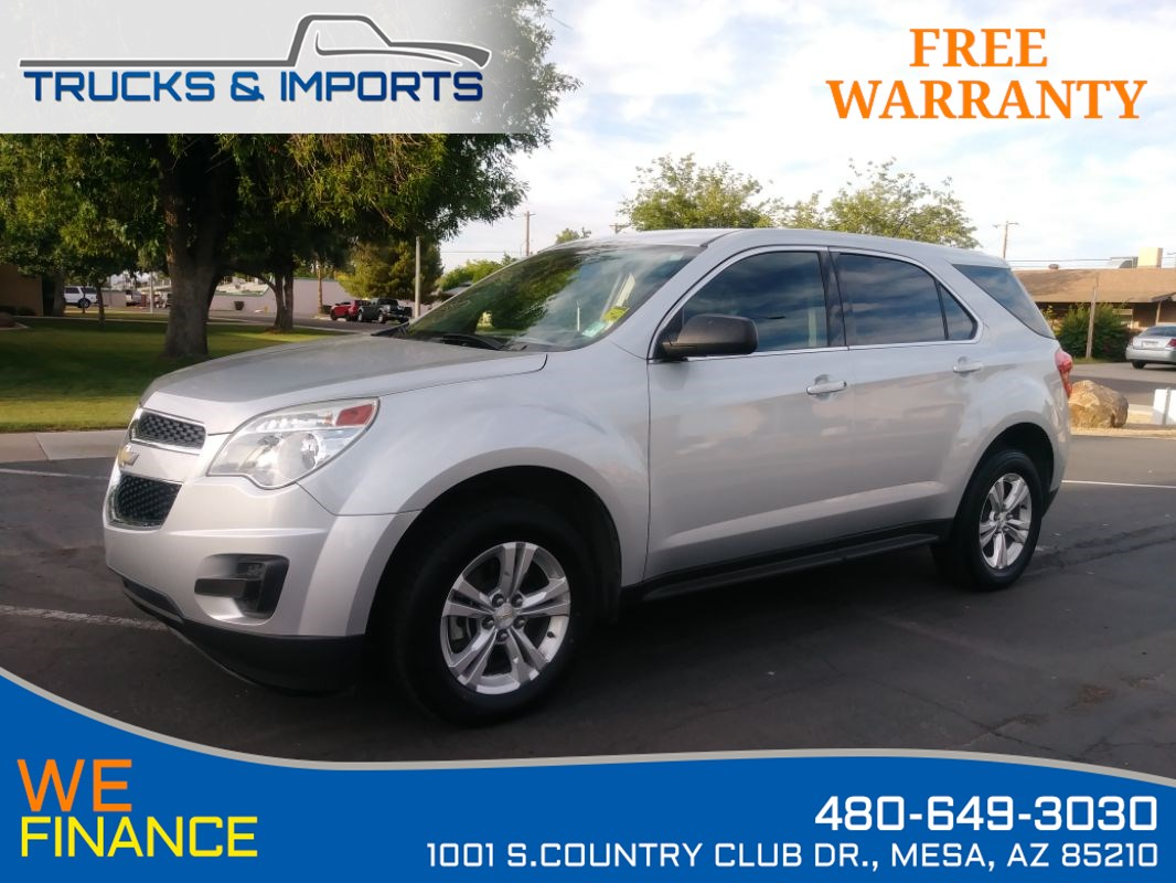 2013 Chevrolet Equinox LS Clean CarFax plus 32 MPG!
