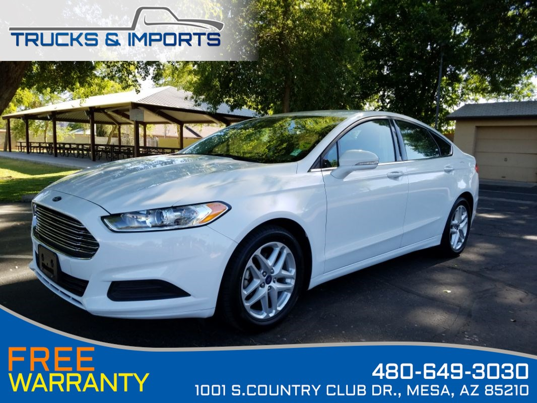 2014 Ford Fusion SE 3 in stock One Owner!