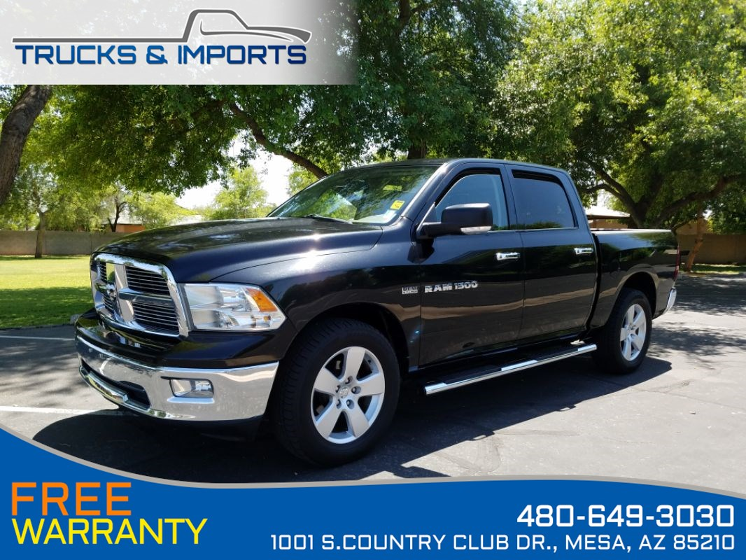 2011 Ram 1500 Big Horn One Owner Clean CarFax w/ Service Records