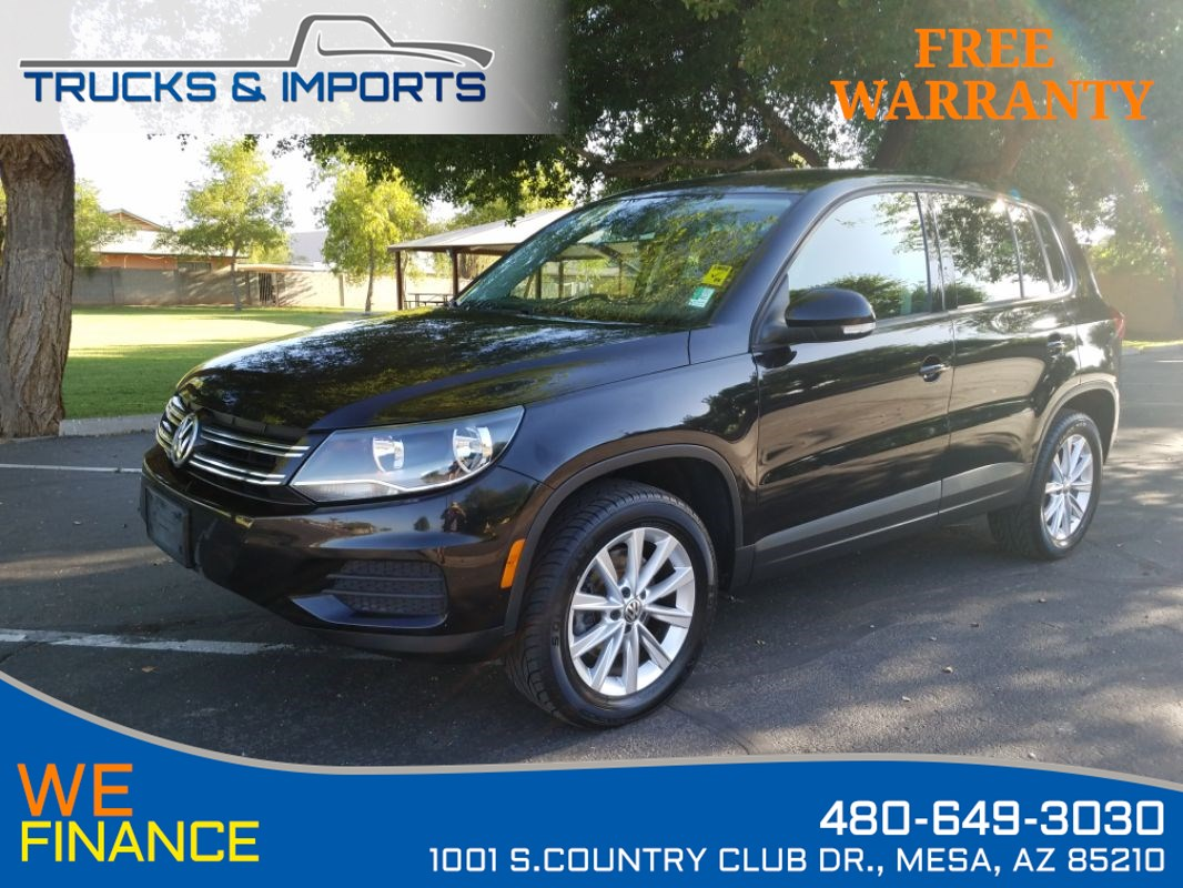 2014 Volkswagen Tiguan SE One Owner 3 in stock!