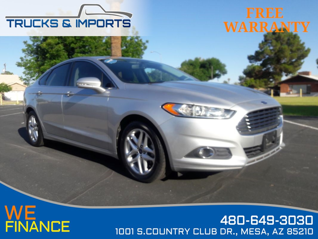 2013 Ford Fusion SE 36 MPG plus 5 in stock!
